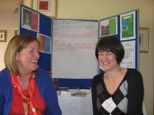 Sheryl and Erica at the Power Group Nov 2010